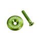 Reverse Steuersatzkappe grün